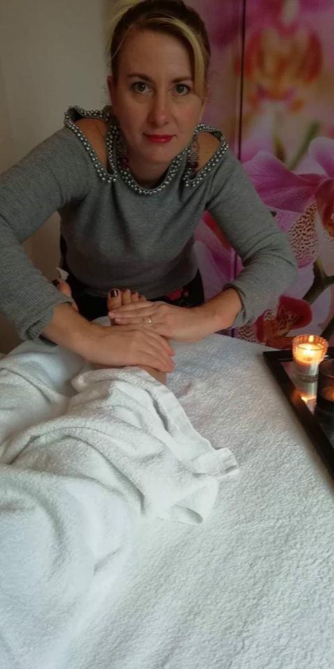 massage foot thaï